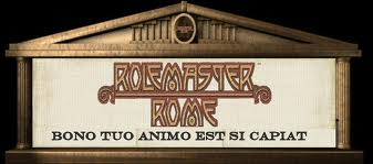 Rolemaster Rome RPG supplement Banner